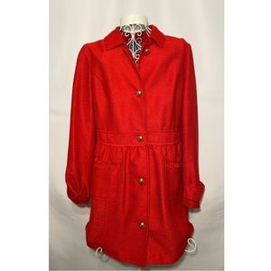 NWT Beautiful Red Sail to Sable Jacket Coat Size M